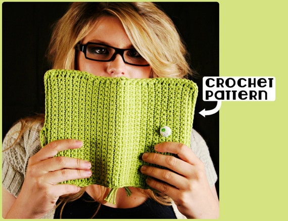 Book Cover Crochet Hats : Pdf crochet pattern for book cover permission by