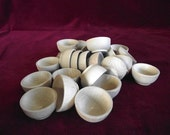 Bulk Pack of 25 Sorting/Stacking Bowls, New Style, Unfinished Commercial Hardwood