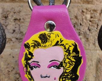 Key fob with Marilyn Monroe