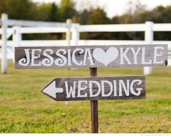 Custom Wedding Sign Barn wood Romantic Outdoor Weddings Trueconnection Hand Painted Wood. Rustic Weddings. Vintage Weddings Road Signs Barn
