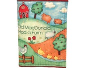CLOTH / SOFT BOOK -  Old MacDonald - Learn Animal Sounds