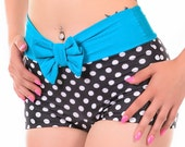 Knockout Highwaist Bow Bikini Bottoms Sizes S, M, L, XL