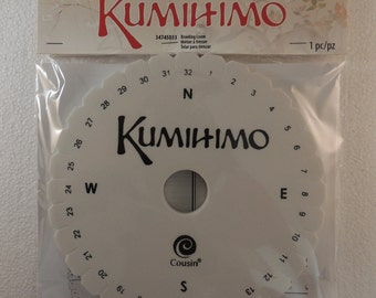 Kumihimo Round Braiding Loom---Instructions In English