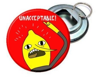 Bottle Opener - Adventure Time Adventure Time Lemongrab image 2.25""