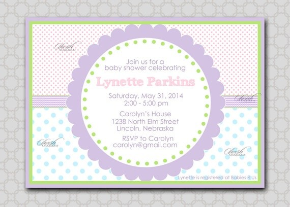baby shower invitation gender neutral party invite gender reveal