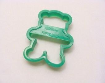 Wilton Green Teddy Bear Cookie Cutter