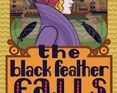The Black Feather Falls - Brand New Color Comic by Ellen Lindner