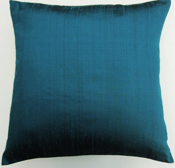 Turquoise pillow cover turquoise throw pillow cover for Turquoise couch pillows