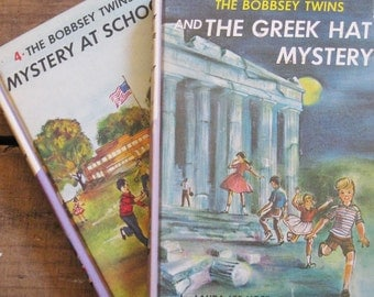 Instant Collection: The Bobbsey Twins Hardcover Books - Set of 2 Books
