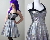 disco ball Yvonne swing dress - custom - smarmyclothes