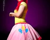 MLP Pinkie Pie Applique Circle Skirt Adult ALL Sizes - MTCoffinz