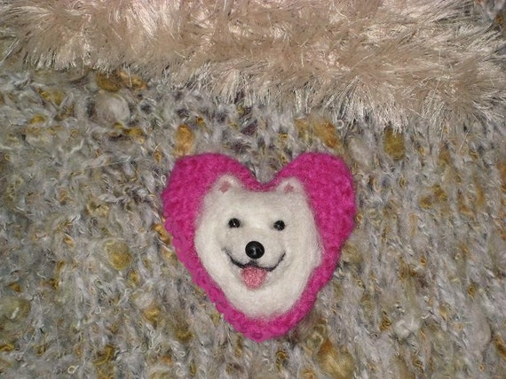 Your dog as a cute Pin / Custom made for You