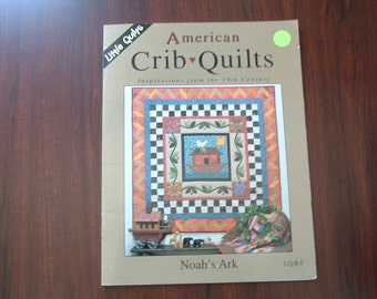 Little Quilts pattern book American crib quilts