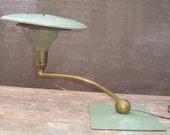 Industrial  Tanker Desk Sight Light by M.G. Wheeler Co