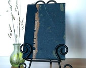 Journal Navy Mango Leaf - Great for Notes, Diary, Journal and Gift
