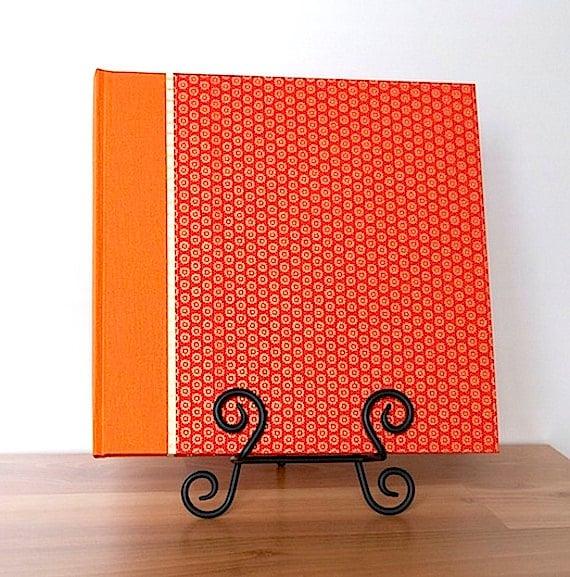 Photo Album Tangerine Suns- great for Weddings, Birthdays, Showers and Scrapbooks