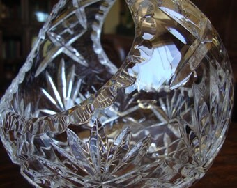 Crystal Basket Brides Basket Vase Wedding TYCAALAK