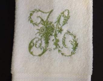 HANDTOWEL Victorian Whitework
