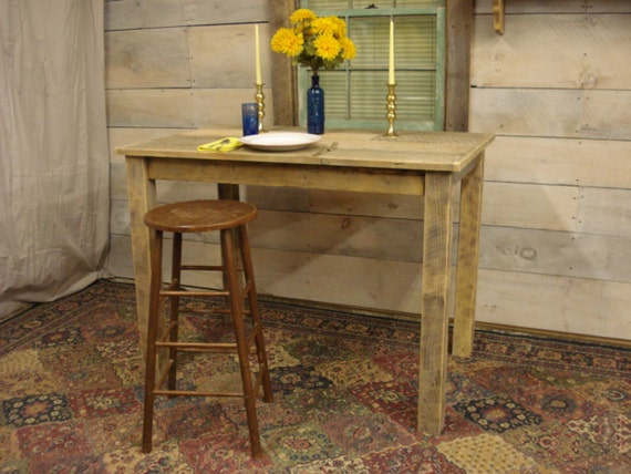 Counter Height Farm Table : Farmhouse Table 56 x 34 x 30H by DriftwoodTreasures on Etsy