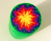 Polymer Clay Cane - Kaleidoscope Cane - Fimo- Premo - By Norrine 543