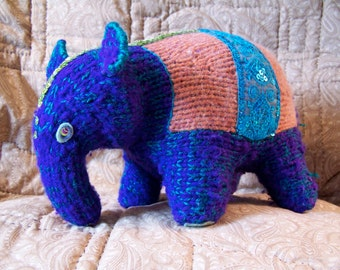 Cutie-Floof Indian Elephant Stuffed Toy