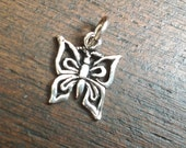Sterling silver BUTTERFLY pendant - Beautiful shine - 925 Silver