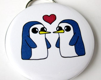 Adventure Time Inspired Bottle Opener & Keychain // Gunter the Penguin