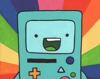 BMO // Adventure Time Fan Art Print