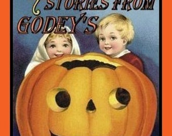 Old Halloween Stories etc from GODEYS - 1800's eBook