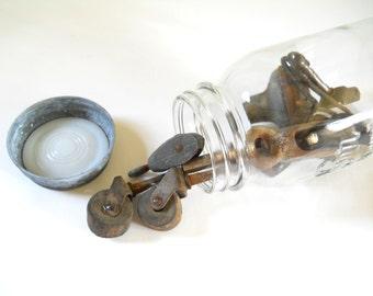 Vintage Hardware Casters Pulley Coat Hook • Hardware Assortment • Instant Hardware Collection No. 1