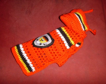 Halloween HOODIE - Costumed Candy Corns -dog sweater - Made to Order - 2 to 20 lbs