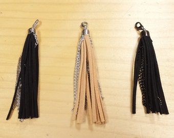 Fringe Leather With Chain FREE USA SHIPPING!