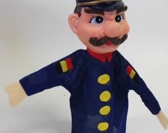 Vintage Fairy Tale Mustache Guard Puppet