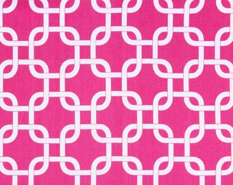 Premier Prints Fabric by the Yard Gotcha - Candy Pink Hot Pink - Fabric Cotton - One Yard Yardage - Ready to Ship - Home Decor Sewing Fabric