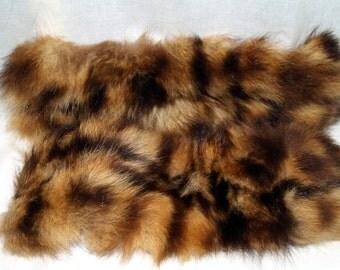 Vintage Raccoon or muskrat cuffs