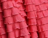Coral Curtains On Etsy A Global Handmade And Vintage Marketplace