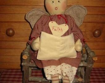 Faith Angel Doll PDF, EPattern, Digital Downloadable Pattern