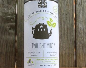 0438 Twilight Mint tea 15bag tin