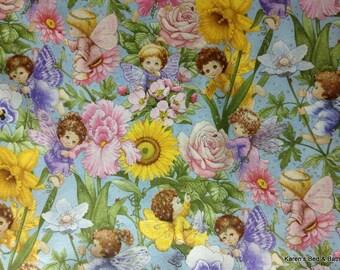 Sweet Lil' Angel Fairy Stardust Floral Flower Garden Custom Sewn Curtain Valance