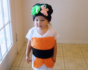 Guaranteed Delivery WIthin 1 Week... Costume KIT... DIY  Do It Yourself Costume  Halloween Costume  Sushi Costume