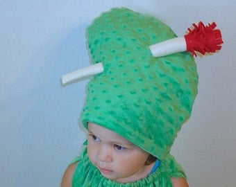 Ready to Ship... Free Shipping... Pickle Hat Halloween Costume Accessory Pickle with a Toothpick Dress Up Purim