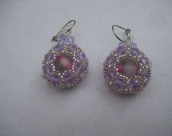Padme Earrings Made by ME Designed by NJDesigns