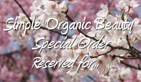 Reserve Order: Rebecca Johnson (beckatha20)