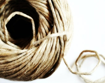 Chunky Natural Jute Cord Rope {5.0m} Natural Kraft Twine or Rope {5mm thick} Perfect for Macrame