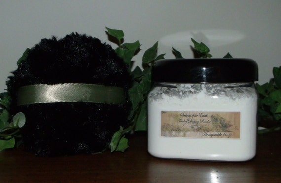 8 oz. Natural Herbal Dusting Powder Goddess Scents