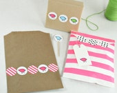 """Chick Petite Stickys (128) 1"""" Stickers with so many uses - 4 colors per package"""