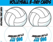 Custom Volleyball Cards