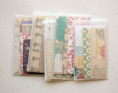 Mini Paper Pack New and Vintage Papers