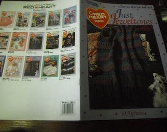 Afghan Crocheting Patterns Just Jeweltones Afghans Leisure Arts 2914 Crochet Pattern Leaflet