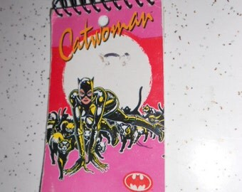 1991 Batman Returns Catwoman Paper Tablet